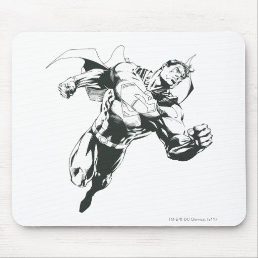 Superhombre 23 alfombrilla de ratones