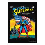 Superhombre #24 invitación 12,7 x 17,8 cm