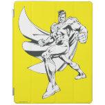 Superhombre 2 blancos y negros cover de iPad