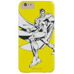 Superhombre 2 blancos y negros funda de iPhone 6 plus barely there