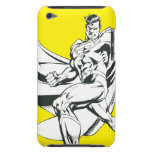 Superhombre 2 blancos y negros iPod Case-Mate fundas
