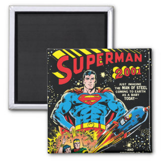 Superhombre #300 iman de frigorífico
