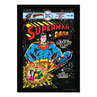 Superhombre #300 invitacion personalizada