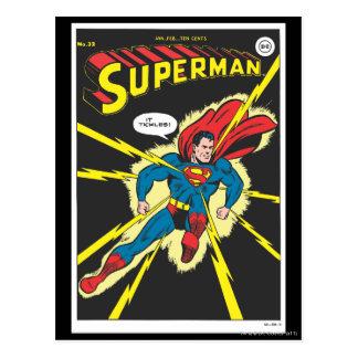 Superhombre #32 tarjetas postales