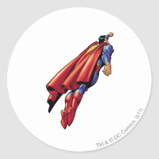 Superhombre 36 pegatina redonda