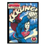 Superhombre 39 tarjetas postales