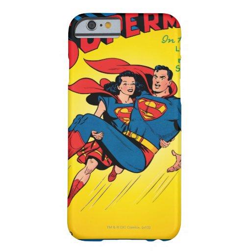 Superhombre #57 funda de iPhone 6 barely there
