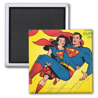Superhombre #57 imán cuadrado
