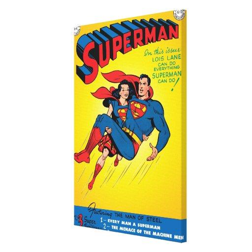 Superhombre #57 lona estirada galerias