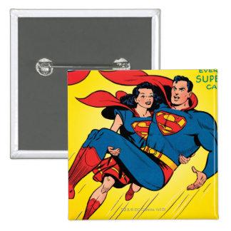 Superhombre #57 pin cuadrado