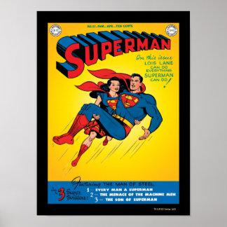 Superhombre #57 póster