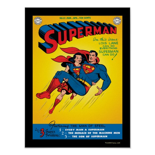 Superhombre #57 posters