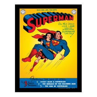 Superhombre #57 tarjetas postales