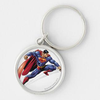 Superhombre 5 llaveros personalizados
