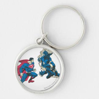 Superhombre 6 llaveros personalizados