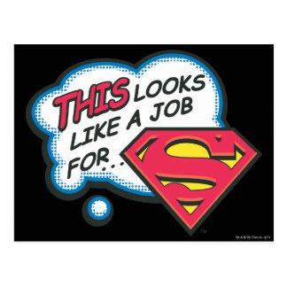Superhombre 74 postal