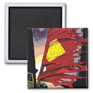 Superhombre #75 1993 imán cuadrado