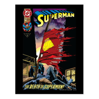 Superhombre #75 1993 postal