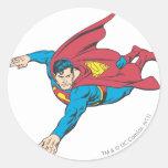 Superhombre 90 etiquetas redondas