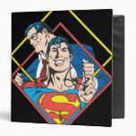 """Superhombre/Clark Kent Carpeta 1 1/2"""""""