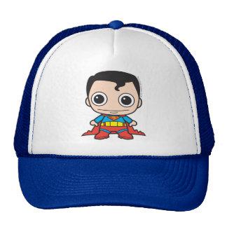 Superhombre de Chibi Gorros Bordados