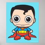 Superhombre de Chibi Póster