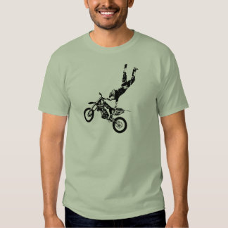 Superhombre de la bici de la suciedad polera