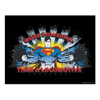 Superhombre - dos trenes postales