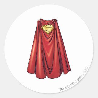 Superhombre - el cabo etiquetas redondas