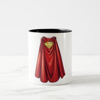 Superhombre - el cabo taza de café de dos colores