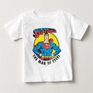 Superhombre el hombre de acero polera