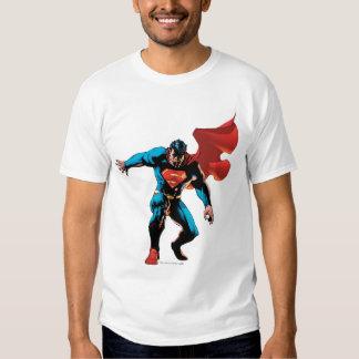 Superhombre en sombra playeras