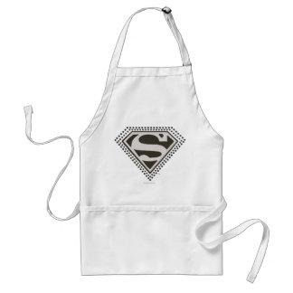 ¡Superhombre - es Showtime! Logotipo Delantales