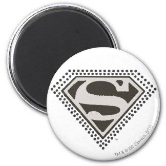 ¡Superhombre - es Showtime! Logotipo Imán Redondo 5 Cm