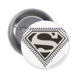 ¡Superhombre - es Showtime! Logotipo Pin Redondo 5 Cm
