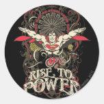 ¡Superhombre - es Showtime! Poster Pegatina Redonda