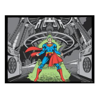 Superhombre expuesto a Kryptonite Tarjeta Postal