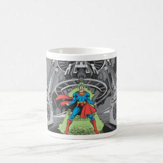 Superhombre expuesto a Kryptonite Taza De Café