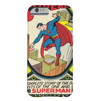 Superhombre (historia completa) funda de iPhone 6 barely there