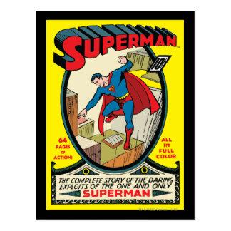 Superhombre (historia completa) tarjeta postal