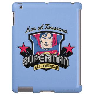 Superhombre - hombre de mañana funda para iPad