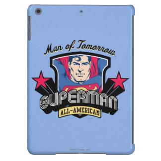 Superhombre - hombre de mañana funda para iPad air