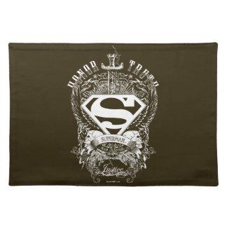 Superhombre - honor, verdad manteles individuales