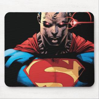 Superhombre - laser Vision Alfombrillas De Ratones