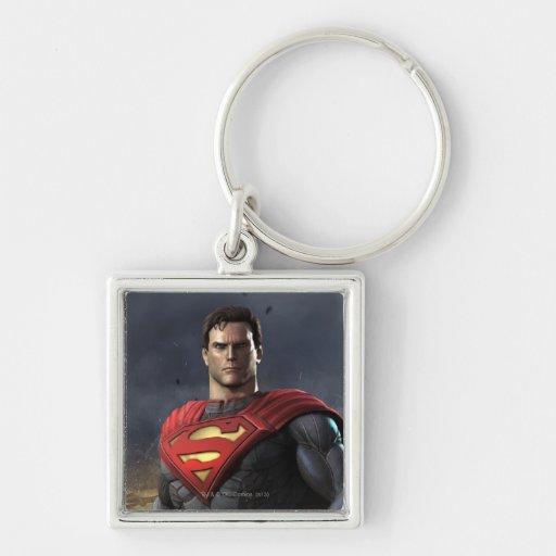 Superhombre Llaveros Personalizados