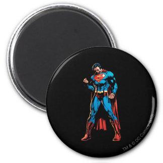 Superhombre - mano en el puño imán redondo 5 cm