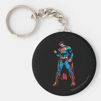 Superhombre - mano en el puño llaveros personalizados