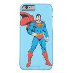 Superhombre que presenta 2 funda para iPhone 6 barely there