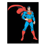 Superhombre que presenta 2 postales