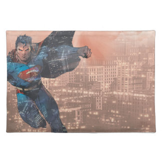 Superhombre - rojo mantel